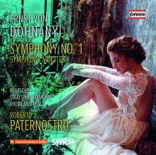 Ernst von Dohnanyi (1877-1960): Symphonie Nr.1, CD