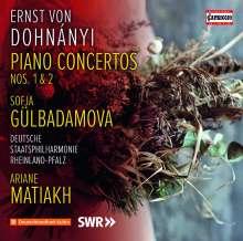 Ernst von Dohnanyi (1877-1960): Klavierkonzerte Nr.1 & 2, CD