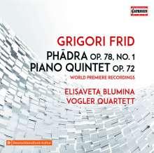 Grigori Frid (1915-2012): Phädra für Klavierquintett, CD