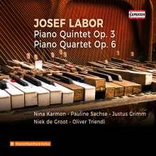 Josef Labor (1842-1924): Klavierquartett op.6, CD