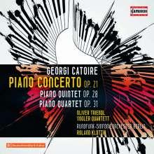Georges Catoire (1861-1926): Klavierkonzert op.21, CD