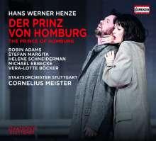 Hans Werner Henze (1926-2012): Der Prinz von Homburg, 2 CDs