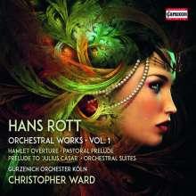 Hans Rott (1858-1884): Sämtliche Orchesterwerke Vol.1, CD