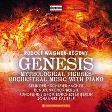 Rudolf Wagner-Regeny (1903-1969): Genesis (Oratorium für Alt,Chor,Orchester), CD