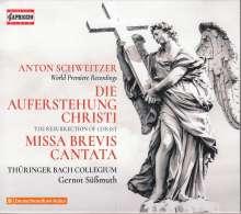 """Anton Schweitzer (1735-1787): Oratorium """"Die Auferstehung Christi"""", 2 CDs"""