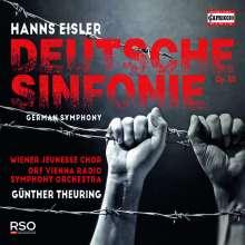 Hanns Eisler (1898-1962): Deutsche Symphonie op.50, CD