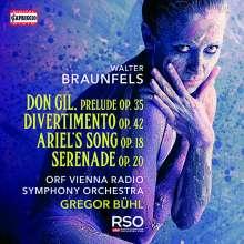 Walter Braunfels (1882-1954): Divertimento op.42 für Radio-Orchester, CD