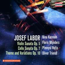 Josef Labor (1842-1924): Violinsonate Nr.1 d-moll op.5, CD
