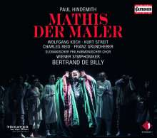 Paul Hindemith (1895-1963): Mathis der Maler, 3 CDs