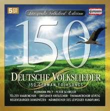 150 Deutsche Volkslieder, 5 CDs