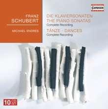 Franz Schubert (1797-1828): Klaviersonaten (Ges.-Aufn.), 10 CDs