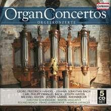 Orgelkonzerte, 5 CDs