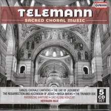 Georg Philipp Telemann (1681-1767): Geistliche Chorwerke, 5 CDs