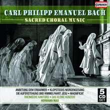 Carl Philipp Emanuel Bach (1714-1788): Geistliche Musik, 5 CDs