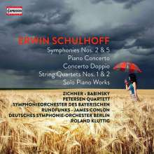 Erwin Schulhoff (1894-1942): Erwin Schulhoff - Capriccio Aufnahmen, 6 CDs