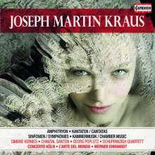 Josef Martin Kraus (1756-1792): Josef Martin Kraus Edition (Capriccio), 5 CDs