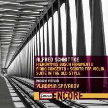 Alfred Schnittke (1934-1998): Quasi una sonate für Violine & Kammerorchester, CD