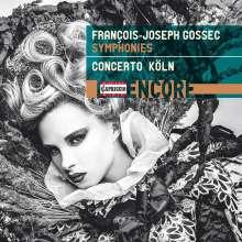 "Francois-Joseph Gossec (1734-1829): Symphonien c-moll;F-Dur;D-Dur ""La Chasse"" (Brook 33,91,62), CD"