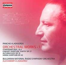Pancho Vladigerov (1899-1978): Orchesterwerke Vol.1, 2 CDs