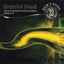Grateful Dead: Vol. 33-Dick's Picks-Oakland Coliseum, 4 CDs