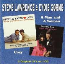 Steve Lawrence & Eydie Gorme: Cozy & A Man And A Woman, CD