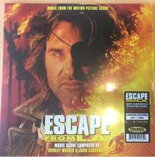Filmmusik: Escape From L.A. (Limited-Edition) (Red & Yellow Flame Vinyl), 2 LPs