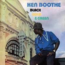 Ken Boothe: Black, Gold & Green (remastered) (Limited-Edition) (Black/Green Vinyl), LP