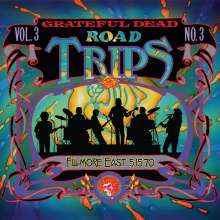 Grateful Dead: Road Trips Vol. 3 No. 3: Filmore East 1970, 3 CDs