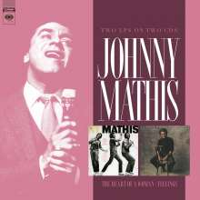 Johnny Mathis: Heart Of A Woman / Feelings, 2 LPs
