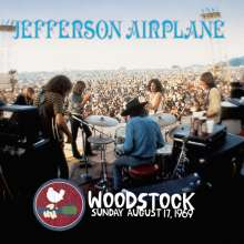 Jefferson Airplane: Woodstock Sunday August 17,1969 (Anniversary Edition) (Blue Vinyl), 3 LPs