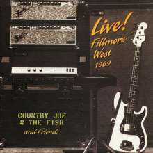 Country Joe & The Fish: Live! Fillmore West 1969 (Limited Edition) (Yellow Vinyl), 2 LPs