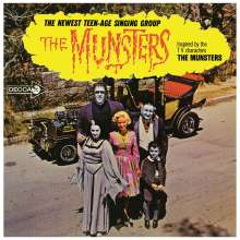 Filmmusik: The Munsters (Limited Edition) (Orange W/ Black Splatter Vinyl), LP