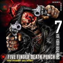 Five Finger Death Punch: And Justice For None (Deluxe-Edition) (Explicit), CD