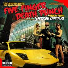 Five Finger Death Punch: American Capitalist (Deluxe-Edition) (Explicit), CD