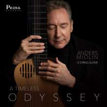 Anders Miolin - A Timeless Odyssey, CD