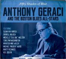 Anthony Geraci: Fifty Shades Of Blue, CD