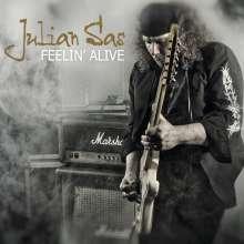 Julian Sas: Feelin' Alive, CD
