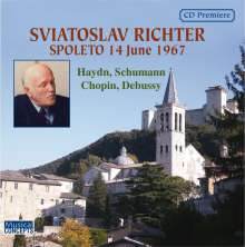 Svjatoslav Richter - Richter in Spoleto (14.6.1967), CD