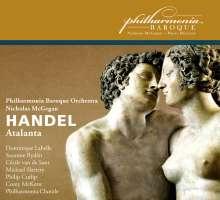 Georg Friedrich Händel (1685-1759): Atalanta, 2 CDs
