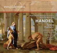 Georg Friedrich Händel (1685-1759): Teseo (Ausz.), CD