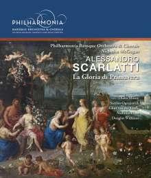 Alessandro Scarlatti (1660-1725): La Gloria di Primavera (Serenata), Blu-ray Audio