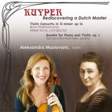 Elisabeth Kuyper (1877-1953): Violinkonzert op.10, CD