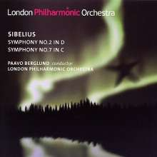 Jean Sibelius (1865-1957): Symphonien Nr.2 & 7, SACD