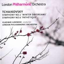 Peter Iljitsch Tschaikowsky (1840-1893): Symphonien Nr.1 & 6, 2 CDs