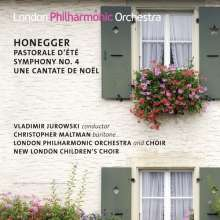 Arthur Honegger (1892-1955): Symphonie Nr.4, CD