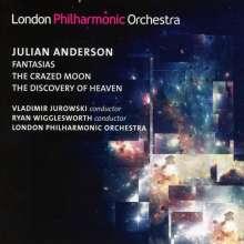 Julian Anderson (geb. 1967): Fantasias Nr.1-5, CD