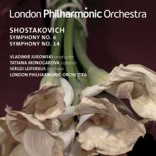 Dmitri Schostakowitsch (1906-1975): Symphonien Nr.6 & 14, CD