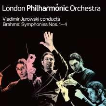 Johannes Brahms (1833-1897): Symphonien Nr.1-4, 4 LPs