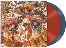 Baroness: Gold & Grey (Indie Retail Exklusive) (Limited-Edition) (Translucent Red & Blue Vinyl), 2 LPs