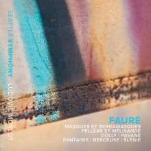Gabriel Faure (1845-1924): Masques et Bergamasques - Suite op.112, CD